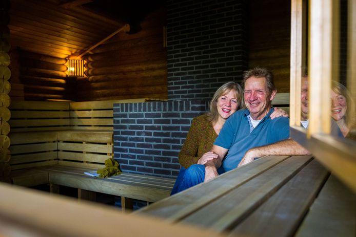Ron en Lolita van Eekert stoppen met de sauna in Haarsteeg waar ze samen een mooie tijd gehad hebben.
