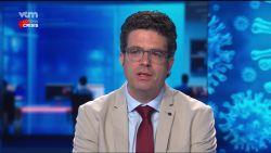 """Steven Van Gucht: """"Wellicht het einde van eerste golf, maar virus heeft nog enorm grote speeltuin waar het lelijk kan huishouden"""""""