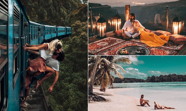 Camille Demyttenaere en Jean Hocke reizen de wereld rond en laten iedereen meegenieten.