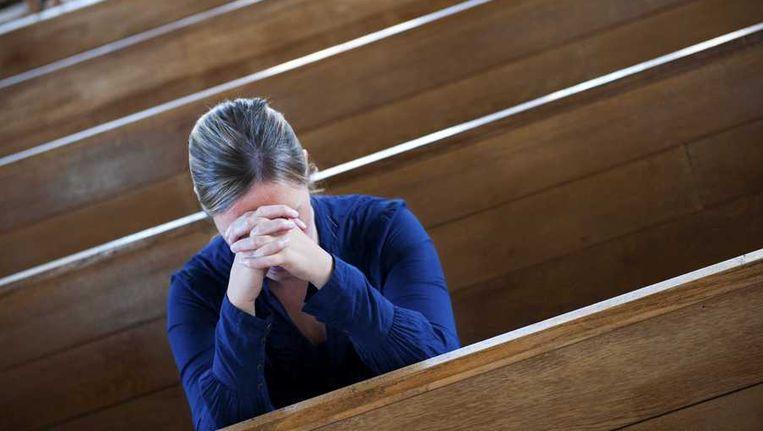 Ongeveer 55 procent van de volwassen Nederlandse bevolking is godsdienstig, 3 procent minder dan in de periode tussen 2004 en 2008. Beeld anp