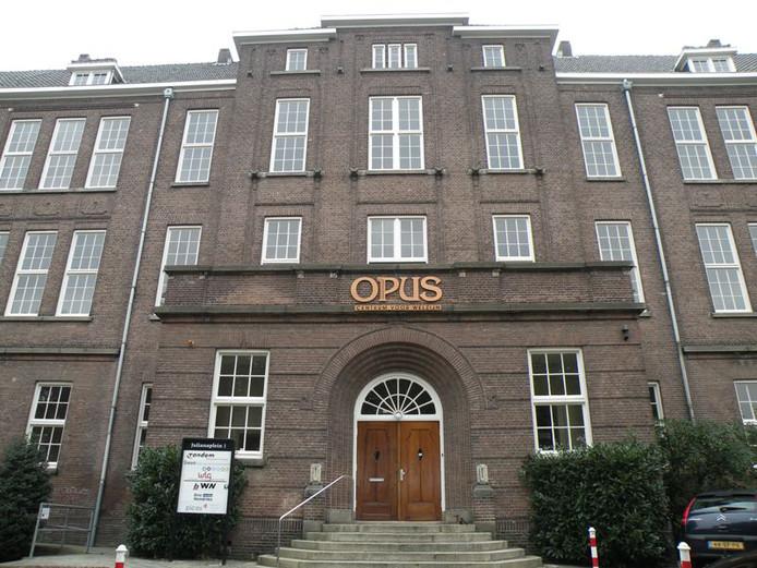Het Opusgebouw aan het Vierdaagseplein in Nijmegen.