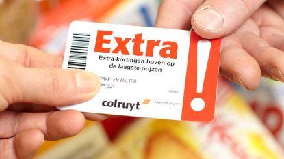Gedaan met de Extra!-kaart van Colruyt, grote plannen met nieuwe klantenkaart