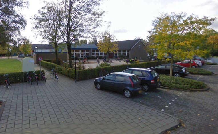 Het plein van de Canadaschool in Doetinchem.