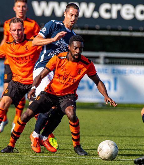 Sportlust'46 geeft punt uit handen na rode kaart Martijn Jansen