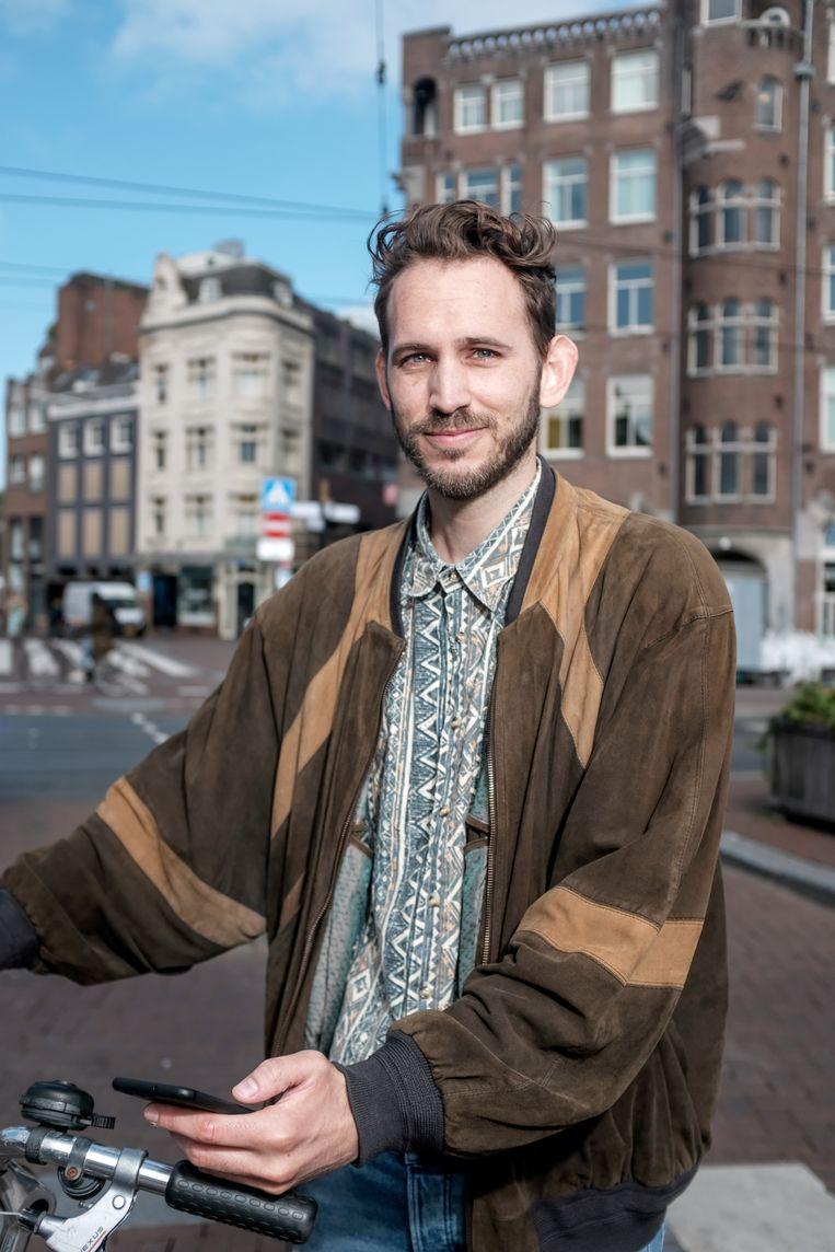 Rick Stevenhaagen Beeld Jakob Van Vliet