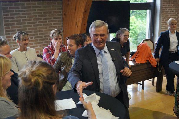 Burgemeester Hendrik Verkest is zondag precies dertig jaar burgemeester van Wingene