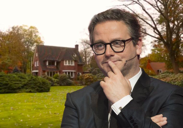 Guus Meeuwis gaat zijn nieuwe villa slopen