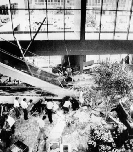 Weinig grote rampen met bruggen in recente geschiedenis