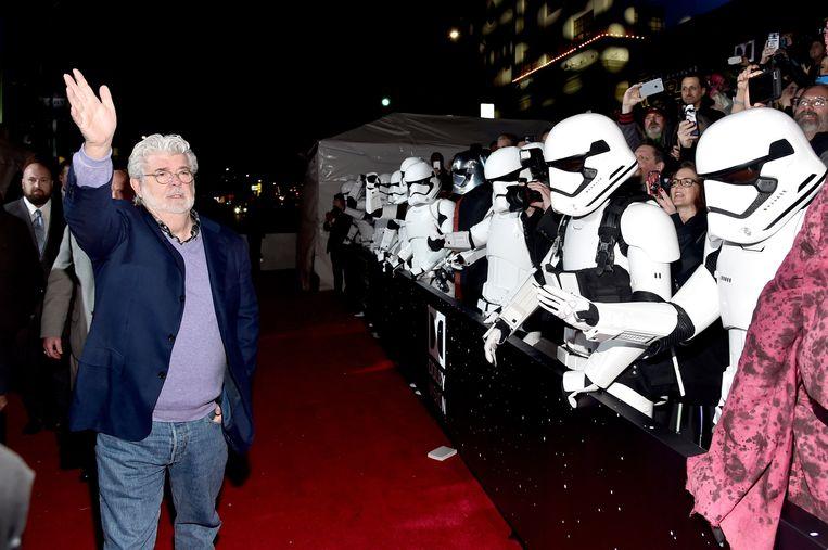 George Lucas, bedenker van het Star Wars-universum.