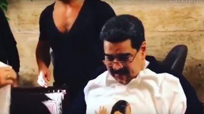 Venezolanen woedend op president: terwijl miljoenen burgers honger lijden, gaat Maduro steak eten en sigaren roken in peperduur restaurant