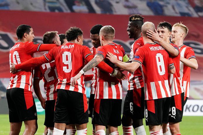 Ondanks een goal van Mario Götze wist PSV donderdag niet te winnen van Granada.