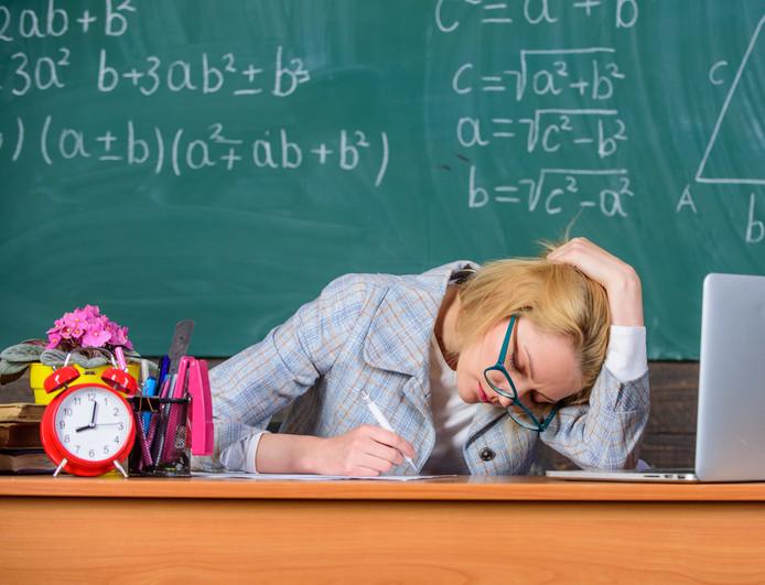Vooral in het onderwijs (85 procent) verwachten instellingen dat de werklast toeneemt.  Foto ter illustratie.