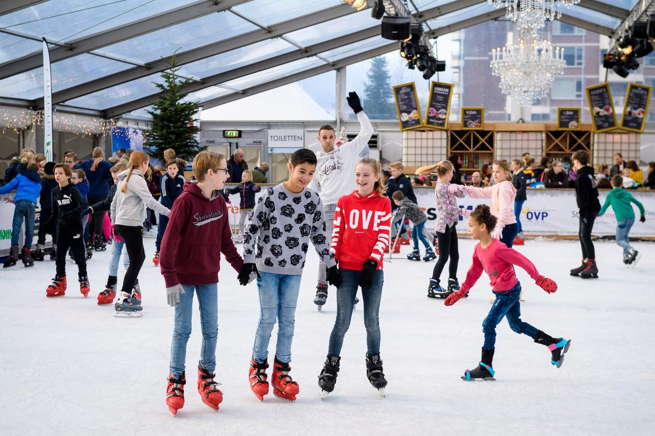De ijsbaan, januari 2019.
