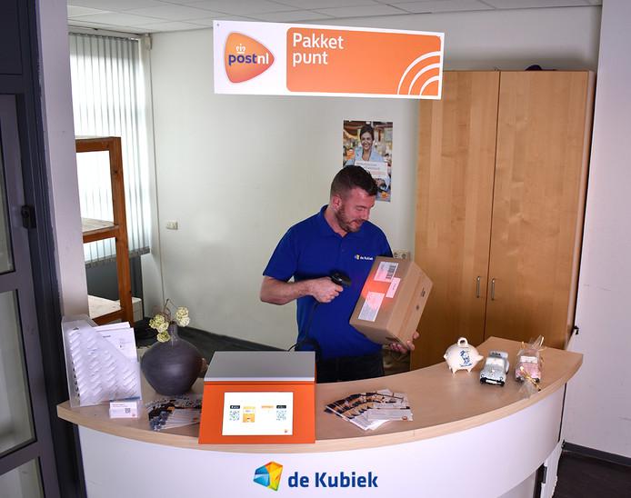 Bij de Kubiek in Rijssen is een PostNL Pakketpunt geopend.