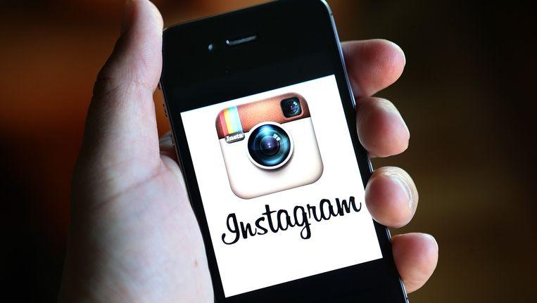 Instagram, een populaire foto-applicatie voor smartphones. Beeld afp