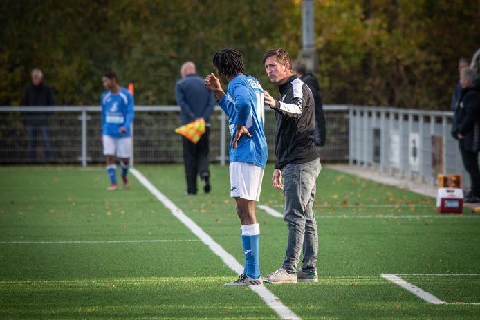 Thomas Ragut, trainer van de zaterdagtak van Vlissingen.