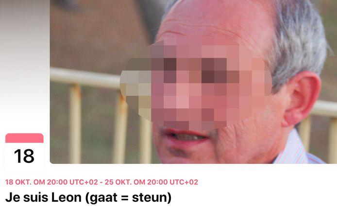 """""""Je suis Leon"""" heet de steunactie op Facebook"""