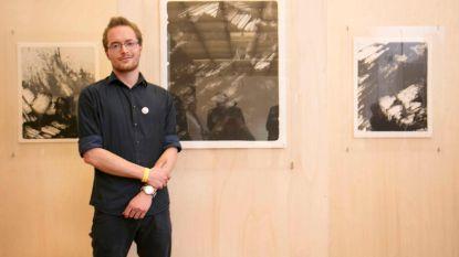 Peter (23) wint prestigieuze grafische kunst-award