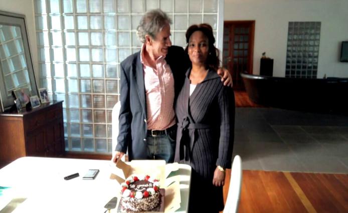 Tob Cohen en zijn vrouw.