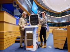 Deelcontainer Twente Milieu gepresenteerd in Europarlement