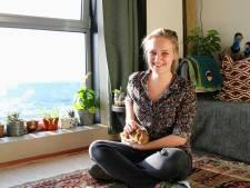 Elke (23) studeert in hartje Utrecht maar woont op de Uithof: 'De ligging is perfect!'