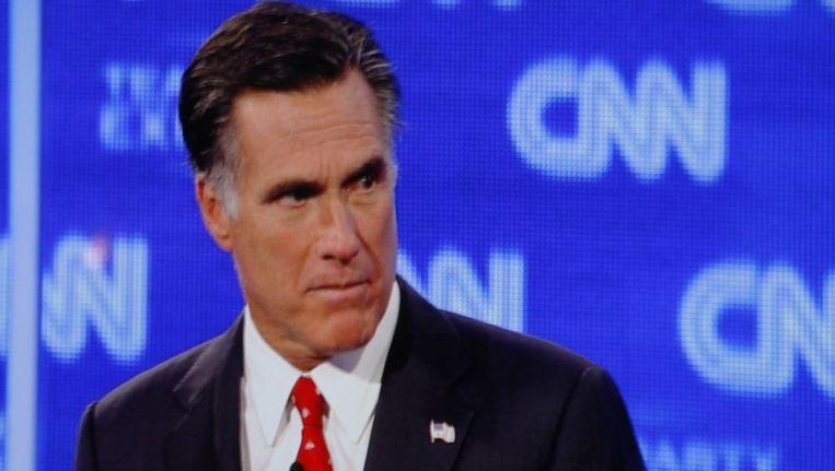 De Republikeinse kandidaat Mitt Romney Beeld reuters