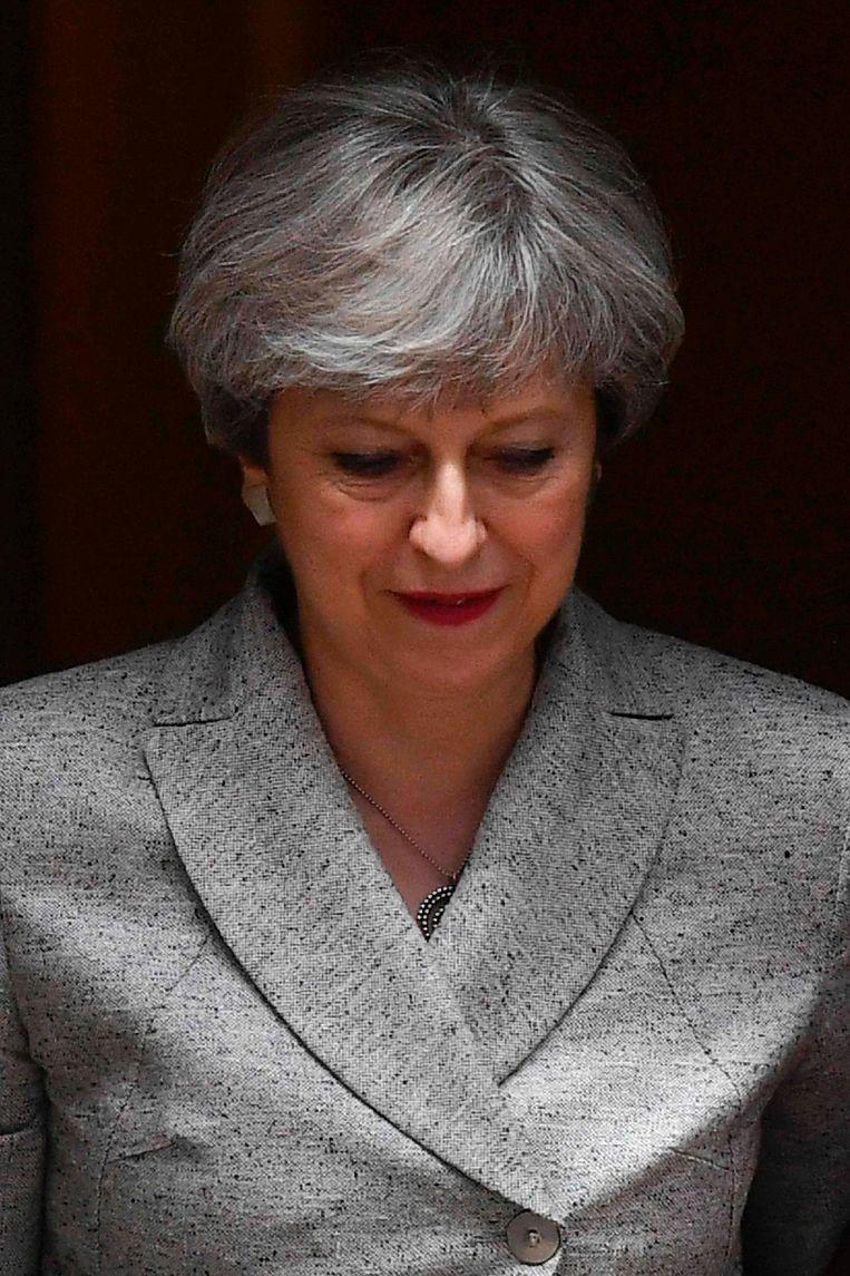 Theresa May. Beeld anp