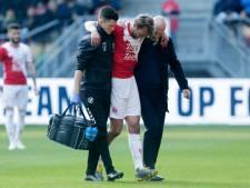 Knieblessure FC Utrecht-aanvoerder Willem Janssen lijkt mee te vallen