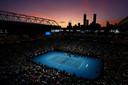 De Rod Laver Arena tijdens Nick Kyrgios - Rafael Nadal.