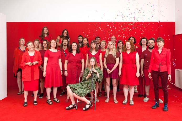 C-Section, The Musical, een collectief van het complete afstudeerjaar Beeldende Kunst van AKV|St. Joost in Breda, won vrijdag de prestigieuze St. Joostpenning