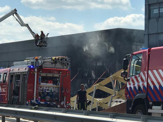 De schade door de brand in Den Bosch.
