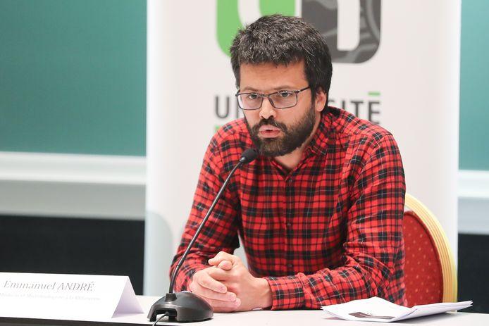 Emmanuel André, ancien porte-parole interfédéral.