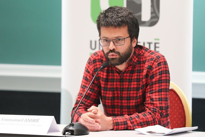 Emmanuel André, porte-parole interfédéral Covid-19