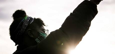 Organisatie Black Lives Matter 'verdrietig' om tegendemonstratie