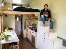 Jongeren trekken in minihuisjes van enkele vierkante meters in ruil voor vrijheid