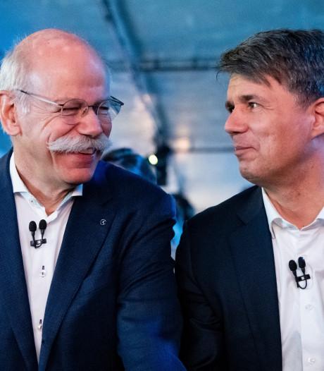 Mercedes en BMW investeren een miljard euro in gezamenlijke mobiliteitsdiensten