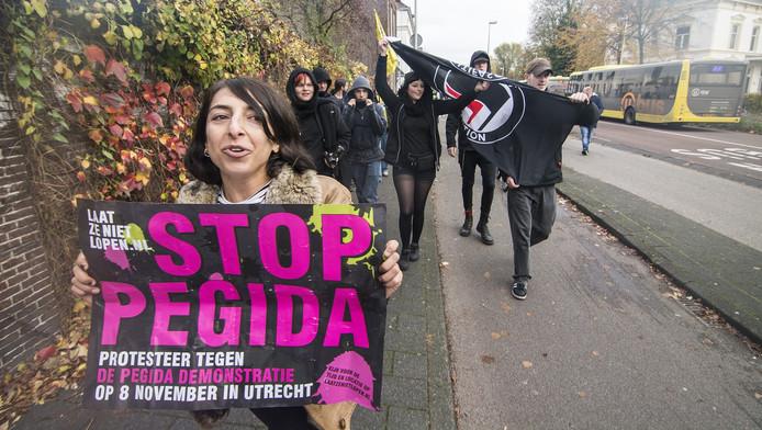 Links-radicale actiegroepen allemaal verbonden met AFA