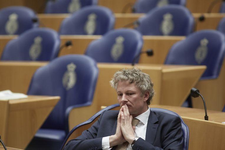 Ex-VVD-Kamerlid René leegte, stapte vandaag op. Beeld ANP