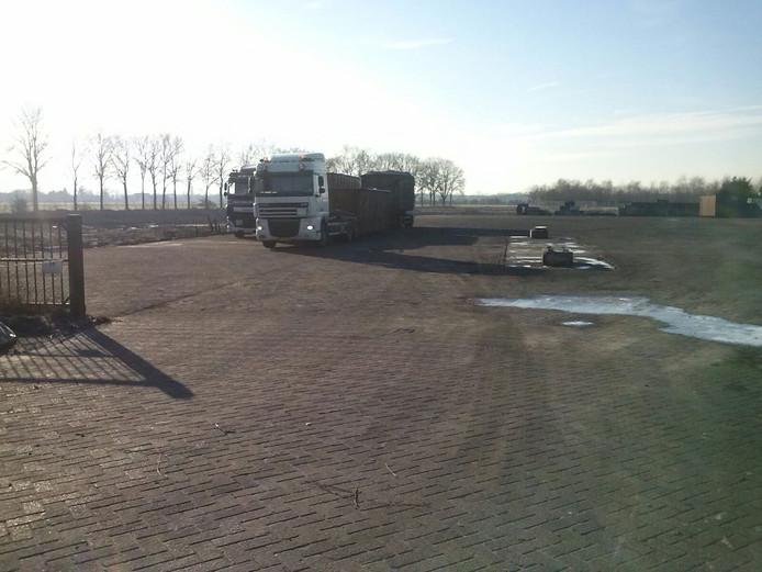Terrein van Van den Hoogen in Someren-Heide