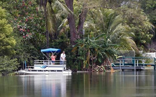 Silver Lakes is een drukbezochte toeristenplek in Florida.