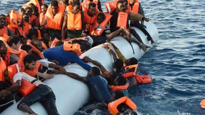 Vrees voor meer dan 100 doden bij schipbreuk voor de kust van Libië
