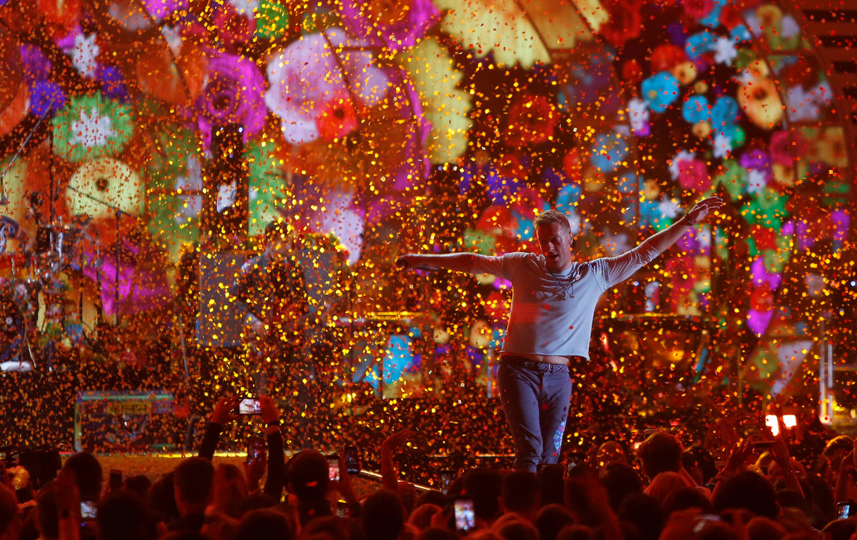 Coldplay-frontman Chris Martin.