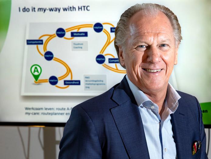Wim Huijbregts startte als ondernemer rond kernenergie en eindigt als baas van de grote arbodienst Human Total Care.
