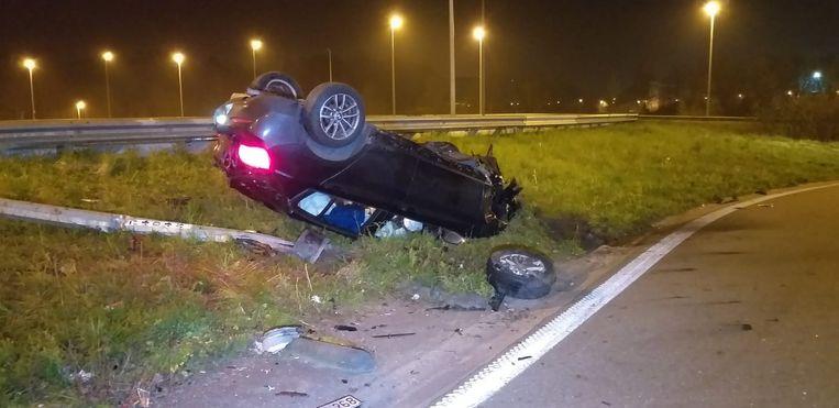 De chauffeur raakte zwaargewond.