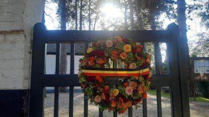 Sereen eerbetoon op begraafplaats Deurle