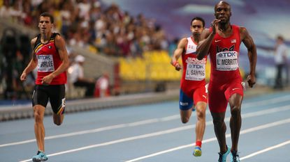 Net geen medaille voor Jonathan Borlée, Merritt pakt wereldtitel