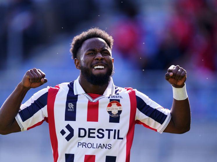 John Yeboah hoopt op basisplaats bij Willem II tegen Rangers