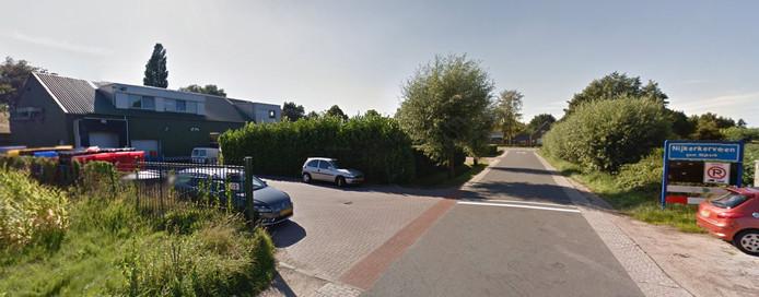 Poeliersbedrijf Ghouzli op de Laakweg in Nijkerkerveen.