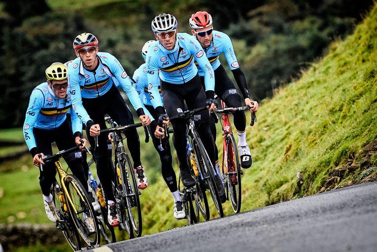 Et Alors hoopt zondag één van de Belgische renners als eerste over de eindmeet te zien rijden.