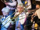 Brabantse visueel beperkte trombonist speelt in orkest